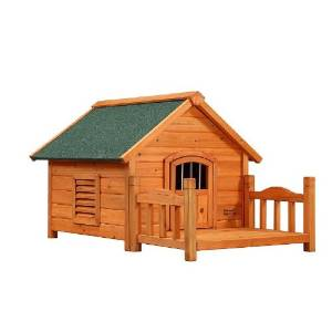 Pet Squeak Porch Pups Dog House, Small, Best House Dogs
