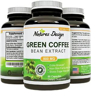 Pure Extract of Green Coffee Bean from Natures Design