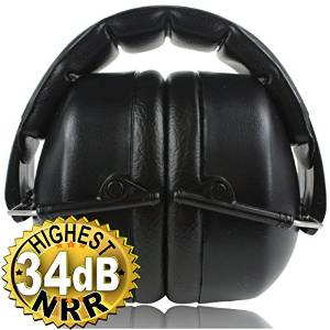 Safety Ear Muffs 34 dB by ClearArmor