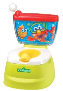 Sesame Street Elmo Adventure Potty Chair