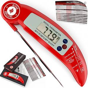 Alpha Grillers Instant Read Thermometer