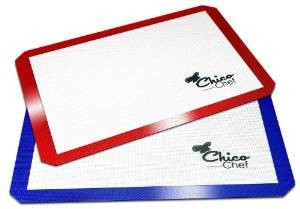 ChicoChef Silicone 2 Pack Baking Mat