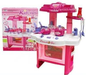 Deluxe Beauty Kitchen Appliance Cooking Play Set
