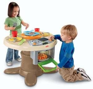 Top 10 best selling play kitchen for kids reviews 2017 for Play kitchen table