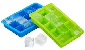 Kuuk Silicone Twin Pack Ice Cube Tray