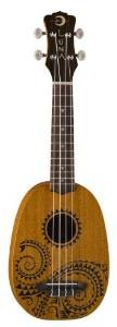 Luna Tattoo Mahogany Series Pineapple Soprano Ukulele