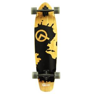 Quest Rorshack 34-Inch Bamboo Longboard