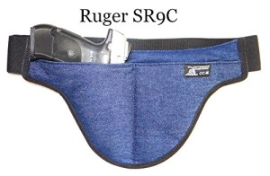 Second Generation Crotch Carry Deep Concealed Handgun Holster