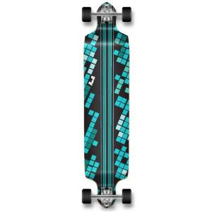 Yocaher Complete Down Stained Speed Drop Professional Longboard
