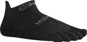 Injiji Run 2.0 Lightweight No-Show Toe Sock