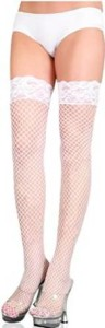 Leg Avenue Women's Fishnet High Stockings