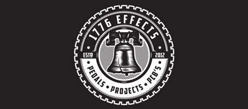 1776 effects bell logo designs