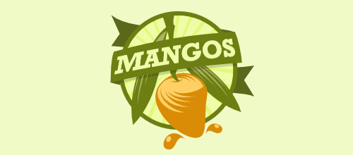 mango juice bar logo designs
