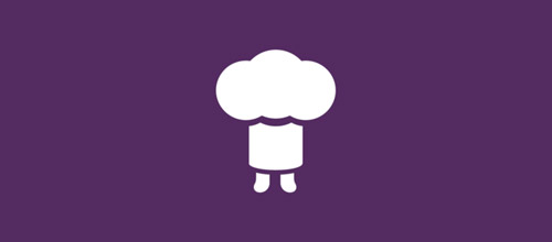 tiny chef hat logo designs