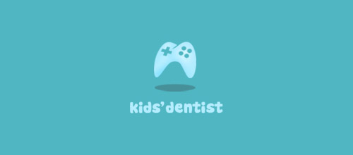 kid dentist logo design