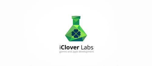 clover labs logo designs