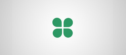 four leaf clover logo designs
