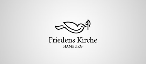 Friedens logo design