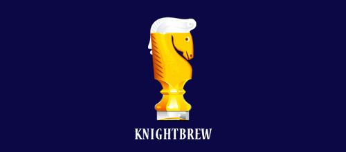 knight brew logo designs