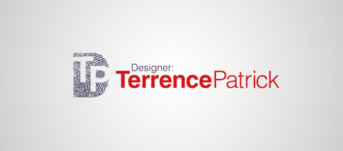 Terrence fingerprint logo designs