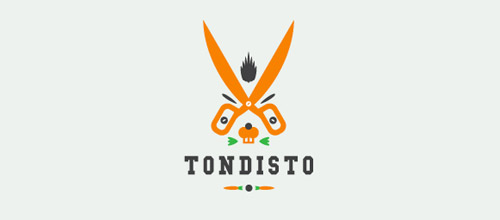 tondisto scissors logo designs