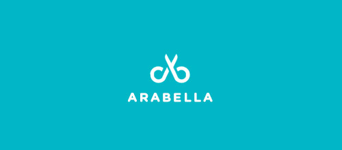 arabella scissors logo designs