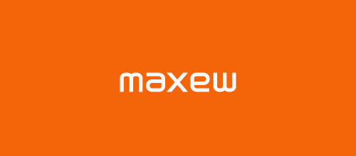 maxew ambigram logo designs