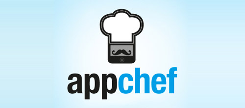 app chef hat logo designs