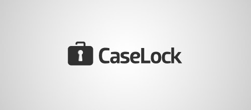 case lock logo designs