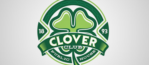 clover club logo designs