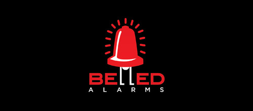 belled alarms logo design