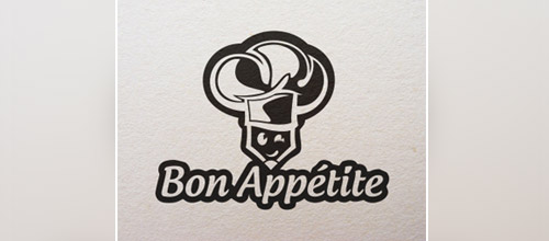 bon appetite chef logo designs