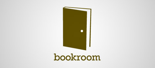 bookroom door logo designs
