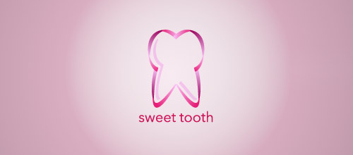 sweet tooth logo design