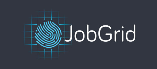 jobgrid fingerprint logo designs