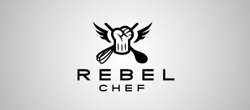 rebel chef hat logo designs