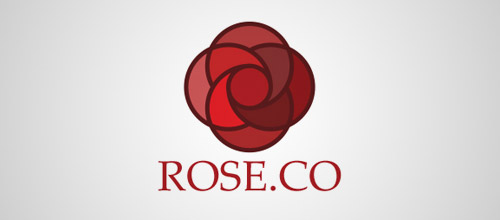 rose co logo design