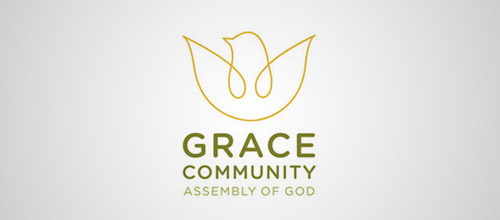 grace dove logo designs