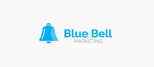 blue bell logo design