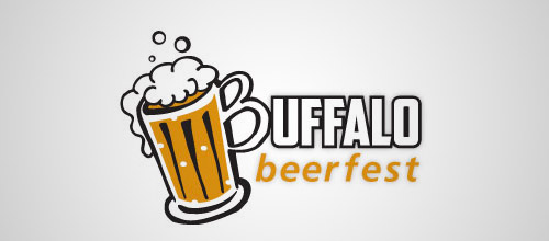 buffalo beerfest beer logo designs