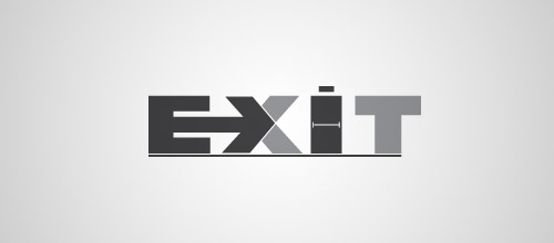 exit door logo designs