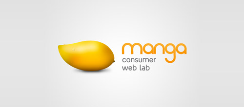 manga web lab logo design