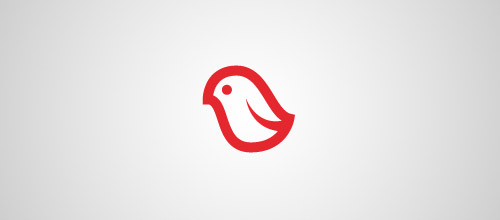 red dove logo design