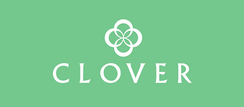 clover cool logo designs