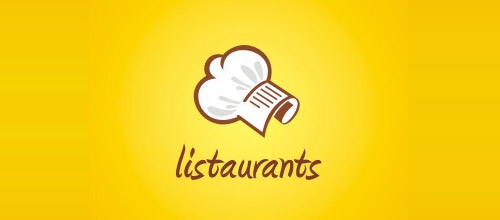 listaurants chef logo designs