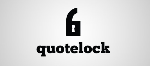 quotelock logo designs