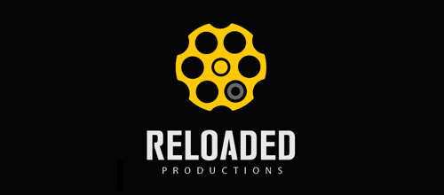 reloaded productions logo design