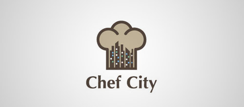 chef city logo designs
