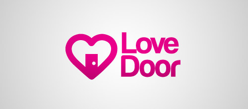 love door logo designs