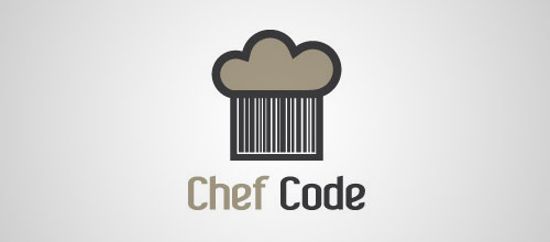 chef hat code logo designs